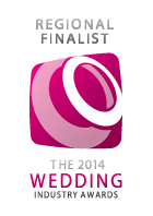 Regionally Finalist for the 2014 Wedding Industry Awards
